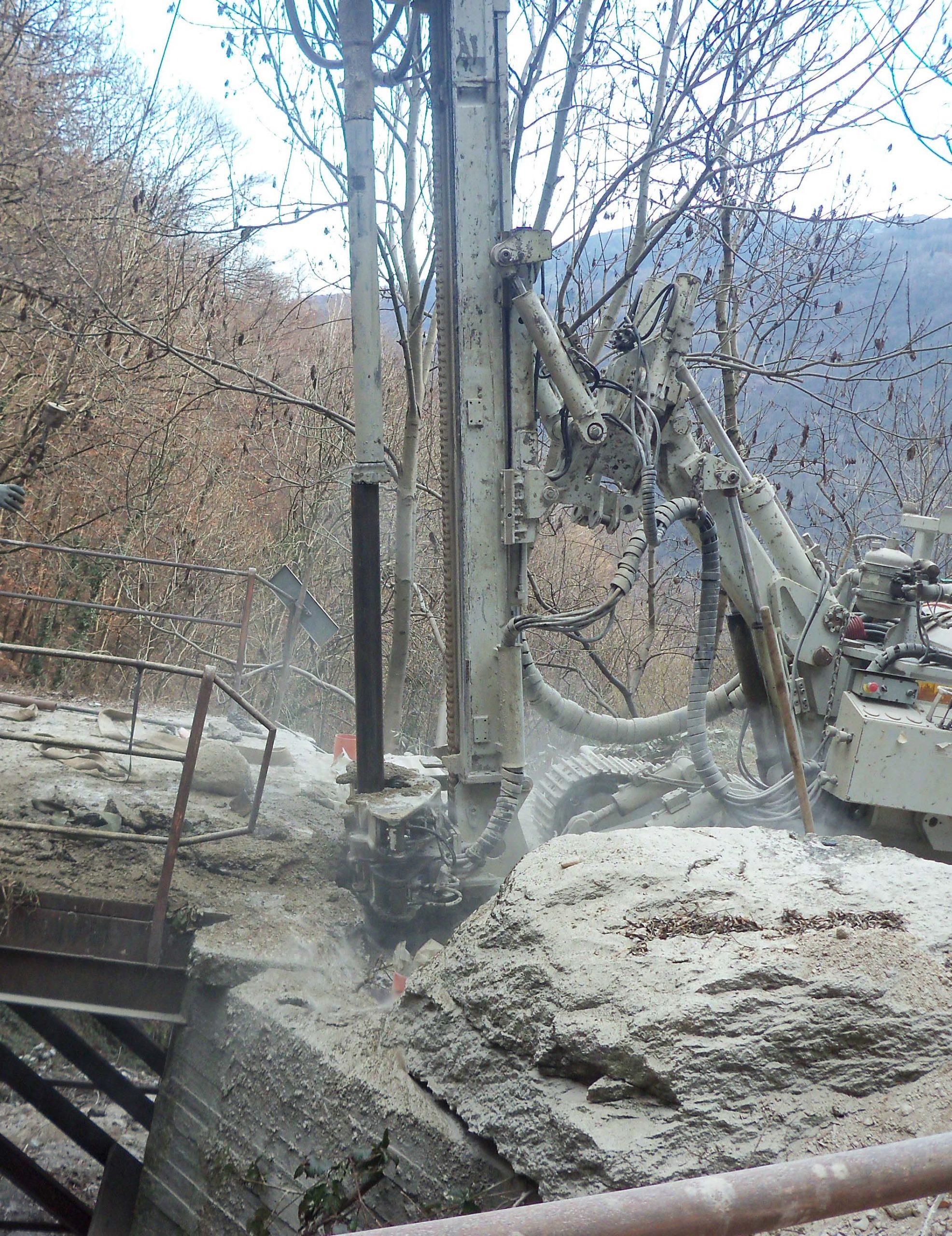 scavo demolizione
